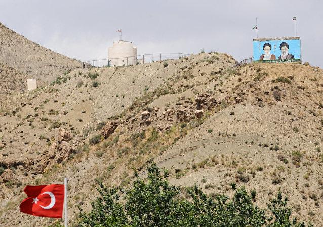 La frontière entre la Turquie et l'Iran