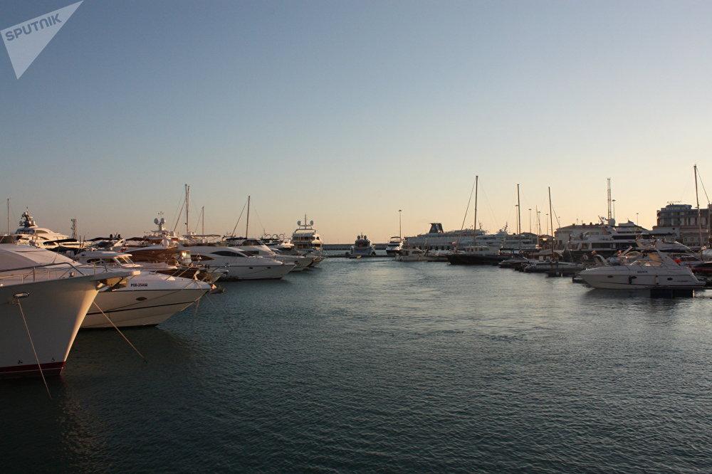 Le port de plaisance du Grand Sotchi