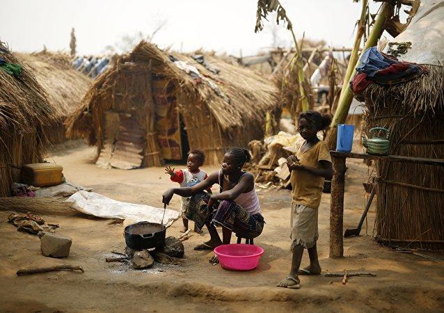 Un camp de réfugiés en Centrafrique (image d'archive)