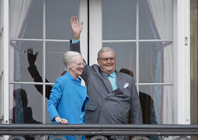 reine Margrethe II et prince Henrik