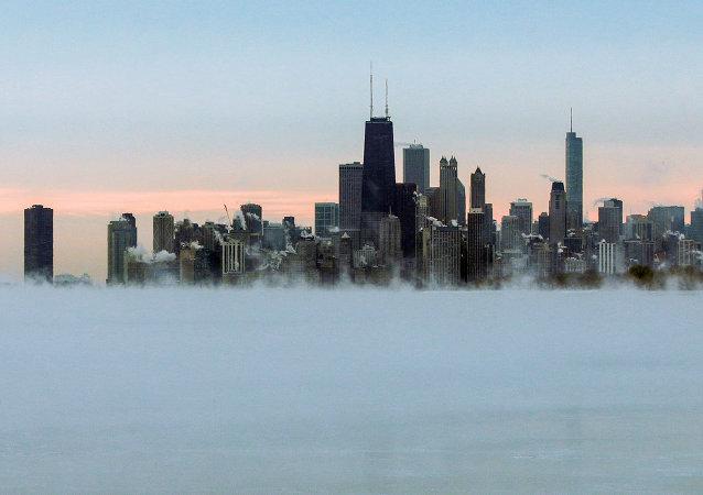 Une vue de Chicago