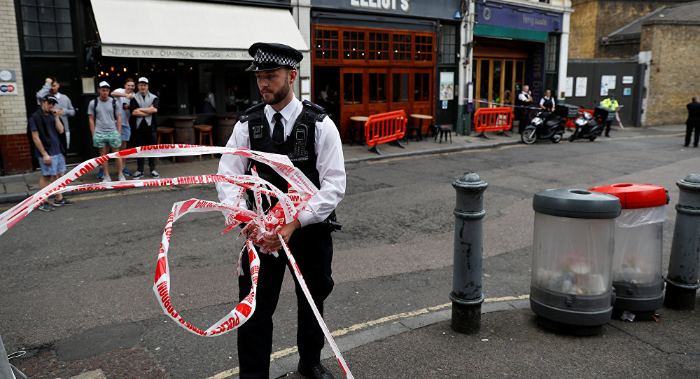 La police londonienne