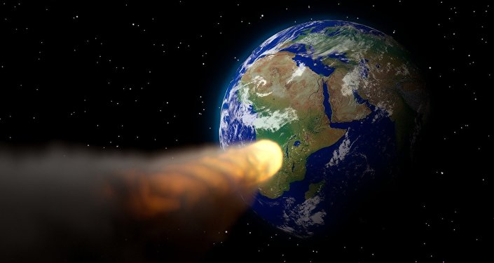 Un astéroïde (image d'illustration)