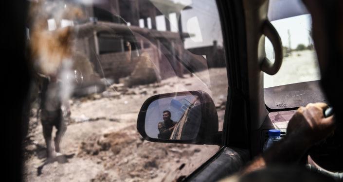 Représentants des Forces démocratiques syriennes (FDS) en Syrie