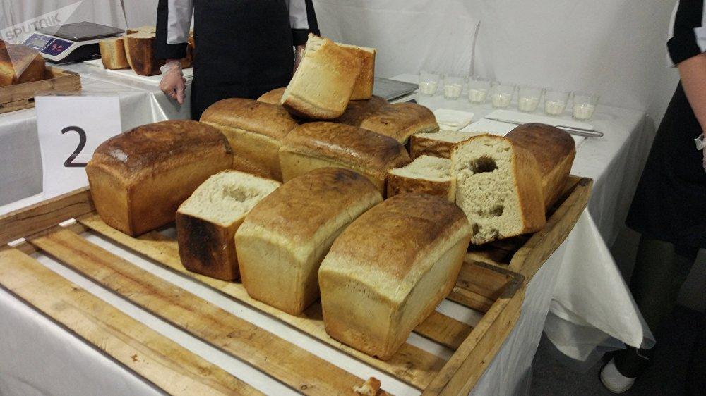 Du pain évalué de l'une des équipes