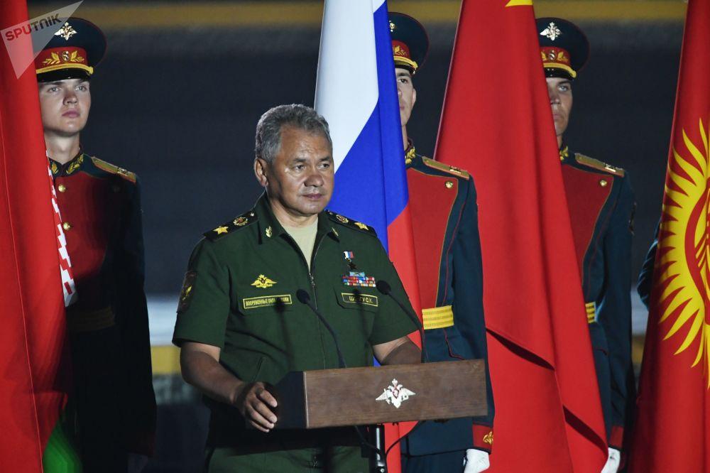 Le ministre russe de la Défense Serguei Choïgou