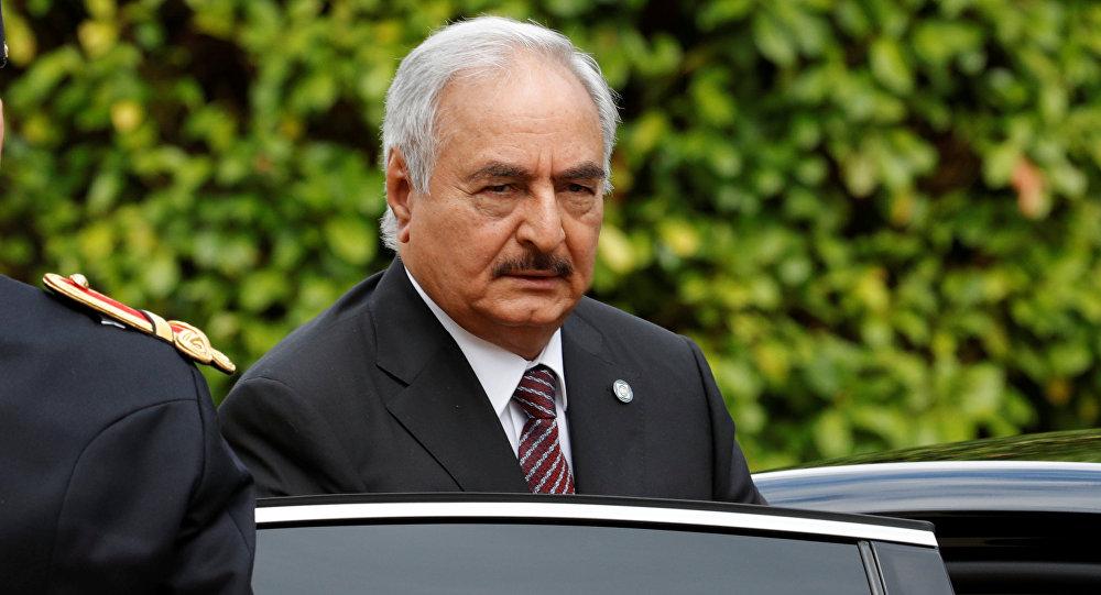 Le maréchal libyen Haftar