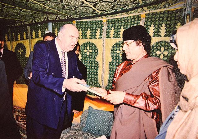 Rencontre avec Khadafi