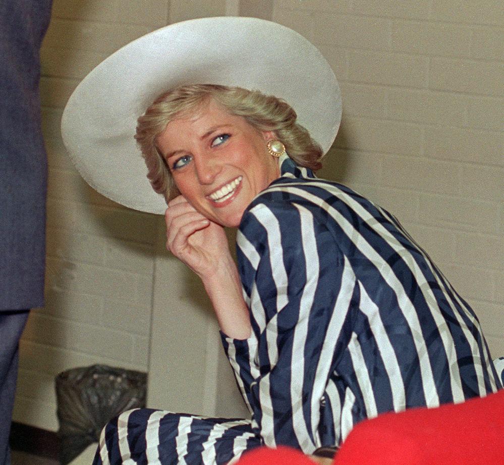 Diana, princesse de Galles, en Australie, 1988