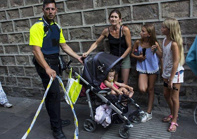 Un attentat à Barcelone
