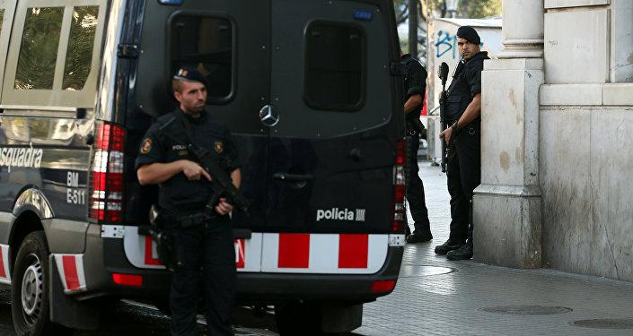 Police de Barcelone