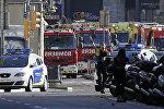 Ambiance tendue après l'attentat de Barcelone