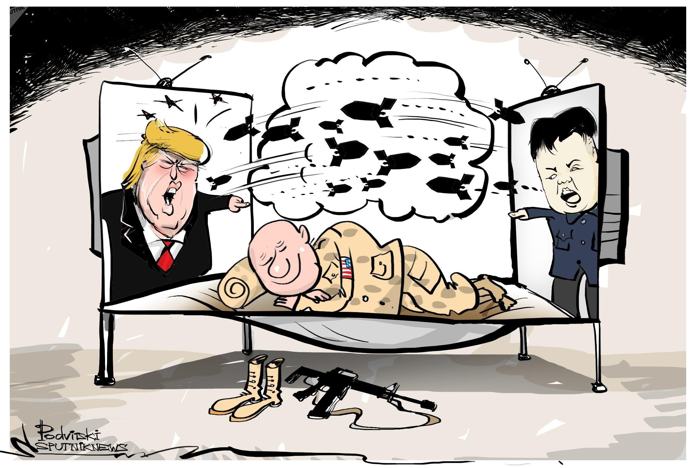 « La guerre est à deux pas, mais les USA ne sont pas au courant »