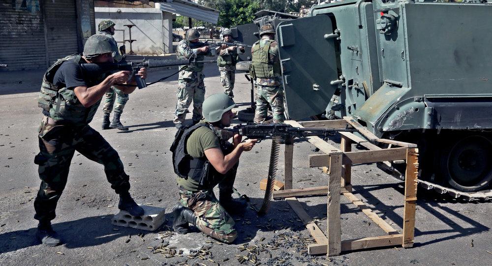 Militaires libanais. Archive photo