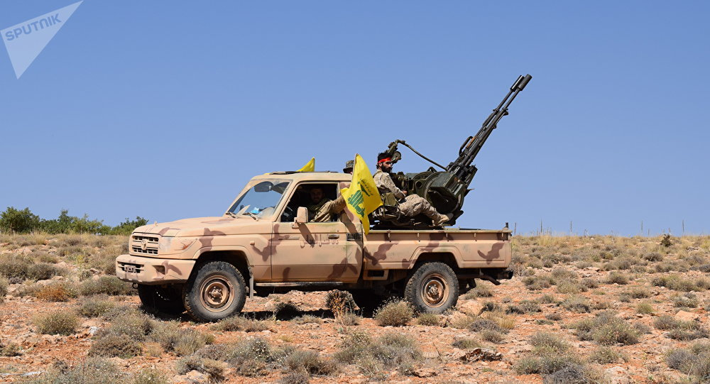 Le Hezbollah à Jaroud Ersal