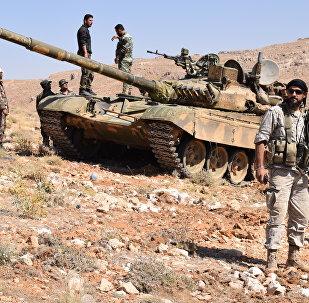 Des soldats de Hezbollah