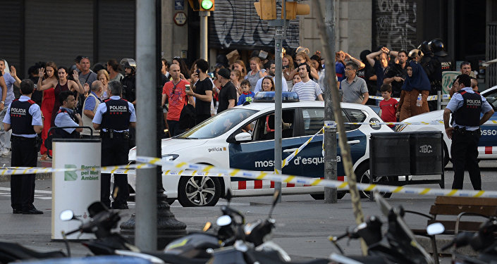 Des photos des véhicules utilisés pour les attentats en Espagne publiées