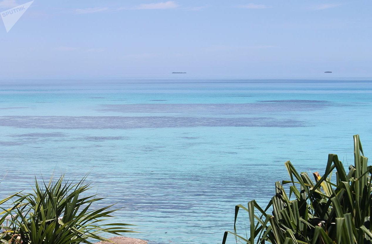 les Tuvalu, un État dans l'archipel polynésien, au centre de l'océan Pacifique