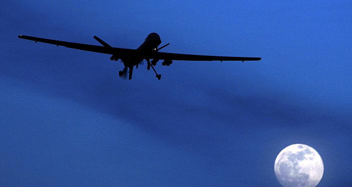Drone américain Predator. Archive