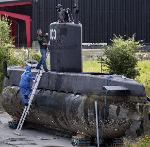 Le sous-marin UC3 Nautilus