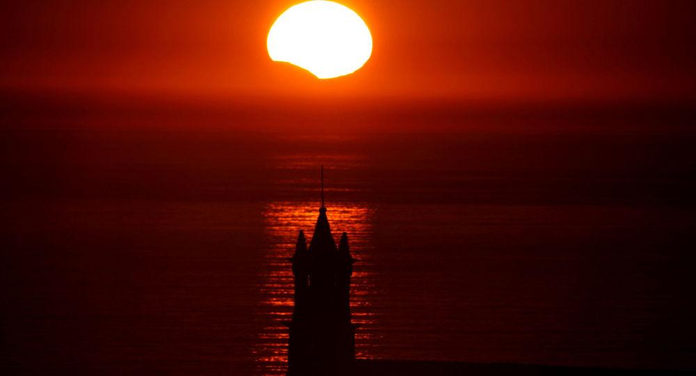une éclipse solaire (image d'illustration)