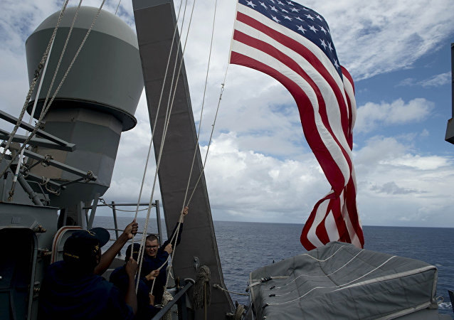 Un destructor USS John S. McCain