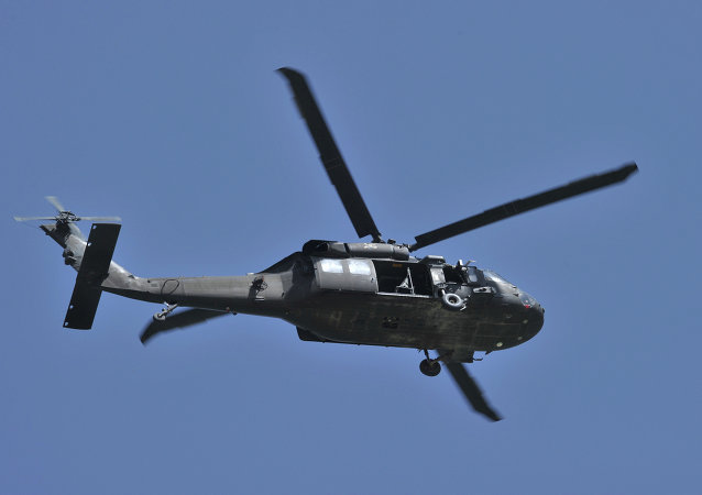 Un hélicoptère US Black Hawk (image d'illustration)
