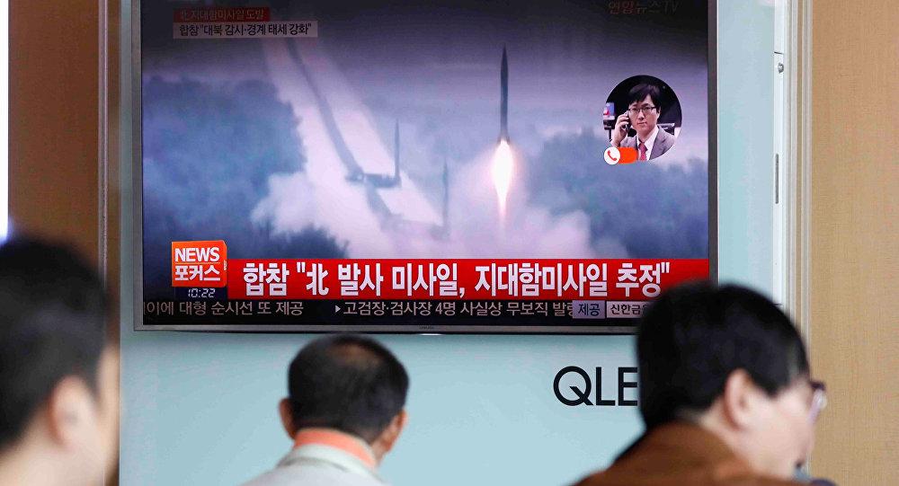 Pyongyang tire un missile balistique et en informe ses citoyens 24h plus tard