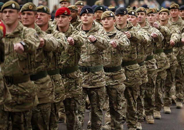 Militaires britanniques