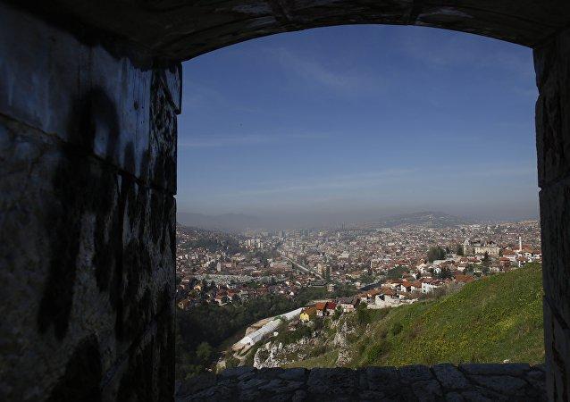 Sarajevo, la Bosnie-Herzégovine