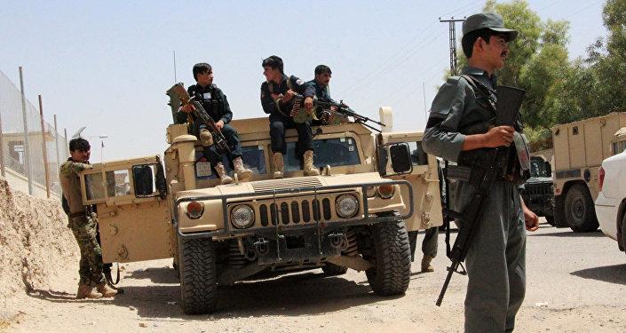 Le Helmand, une région du sud de l'Afghanistan