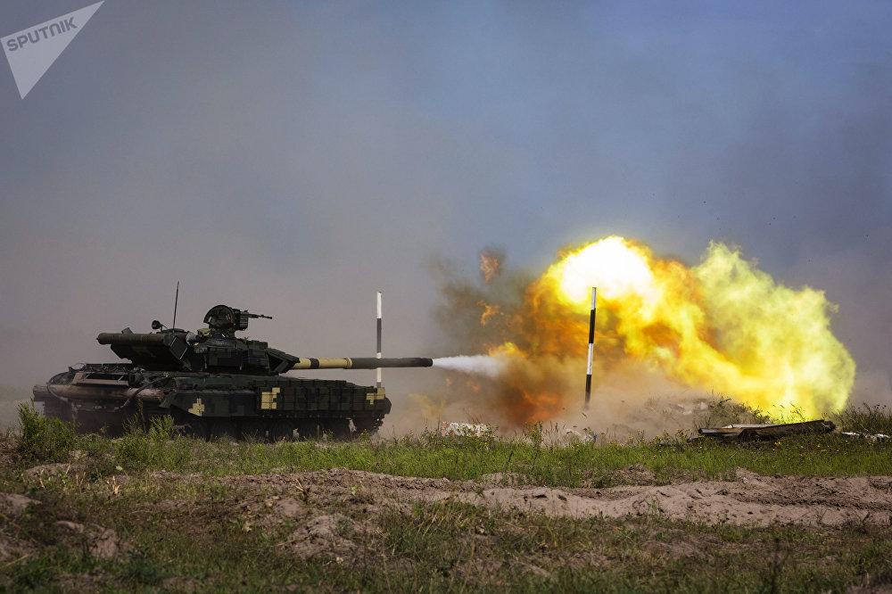 Un ukrainien T-80