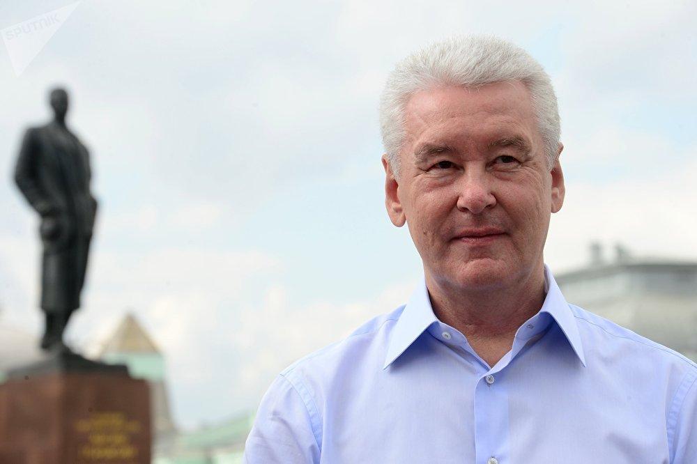 Le maire de Moscou, Sergueï Sobianine