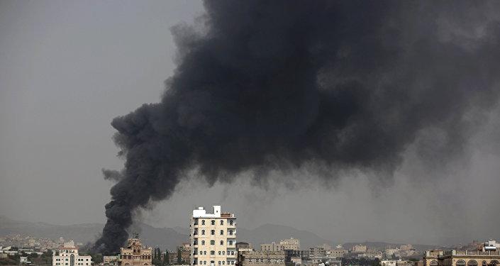 Une frappe contre le Yémen (image d'illustration)