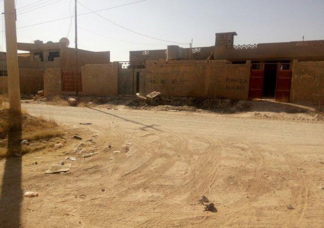 Une route en Irak