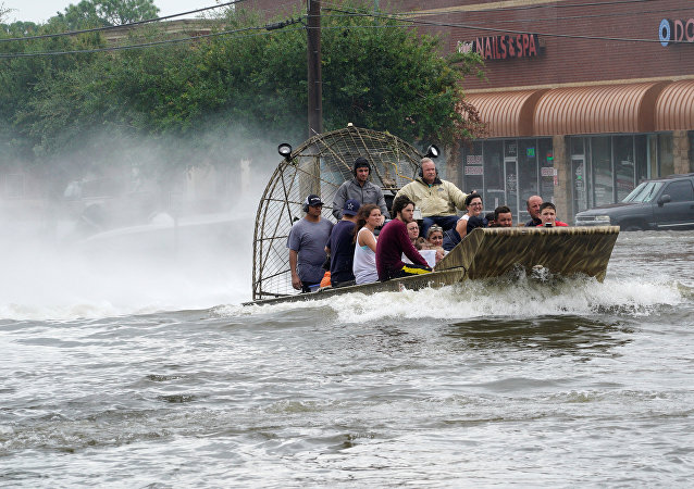 Après le passage de l'ouragan Harvey