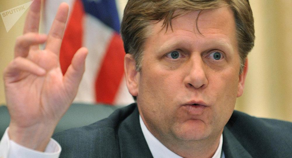 L'ancien ambassadeur américain à Moscou Michael McFaul