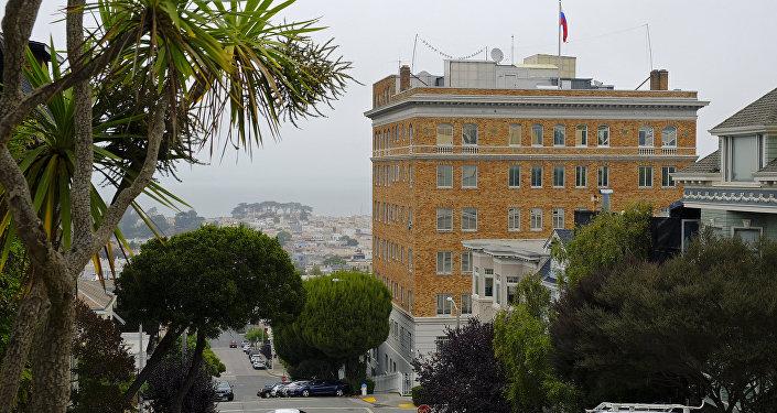 Le consulat russe de San-Francisco