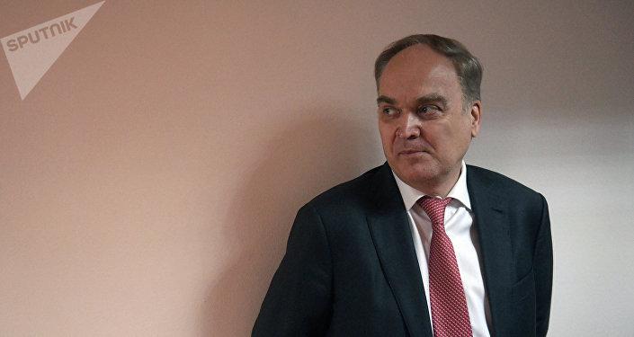 Le nouvel ambassadeur russe aux États-Unis, Anatoli Antonov