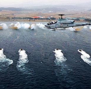 Manœuvres militaires conjointes américaines et sud-coréennes. Archive photo