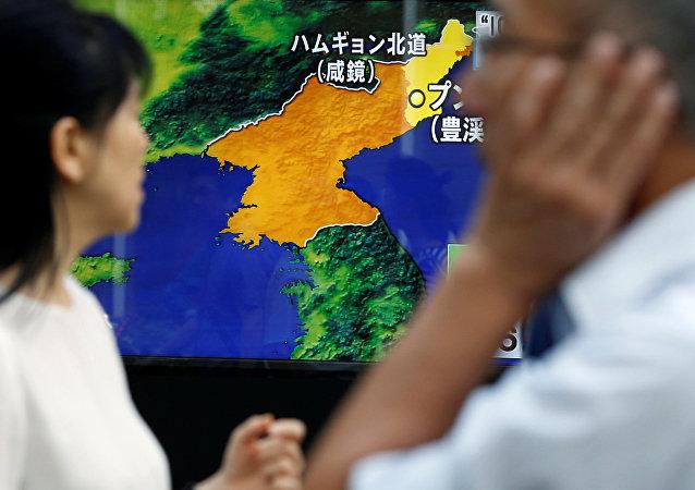 La péninsule coréenne