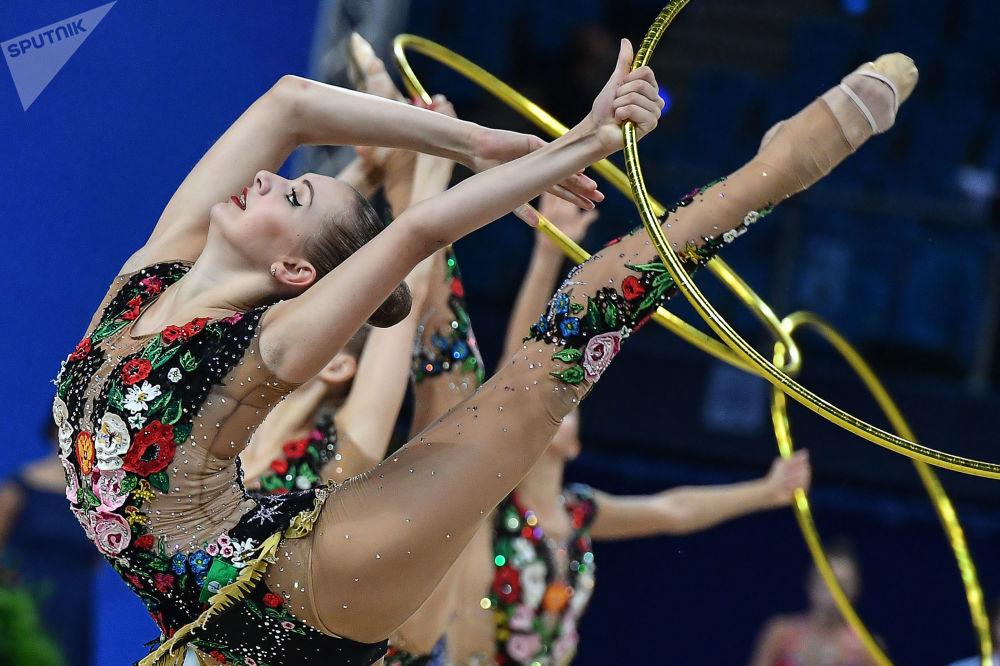 Les meilleurs clichés des championnats du monde de gymnastique artistique