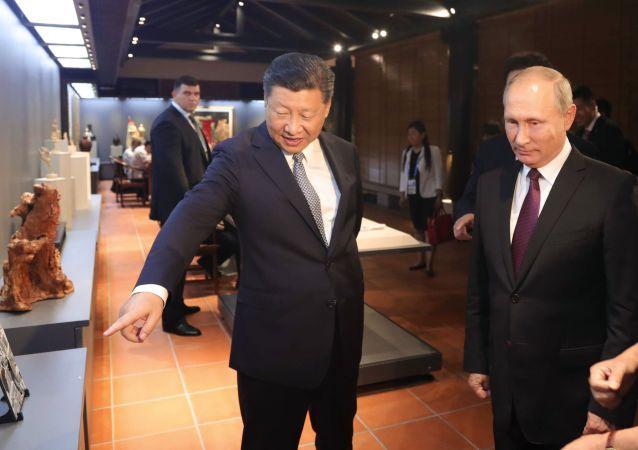 La visite du Président russe Vladimir Poutine en Chine pour le sommet des BRICS