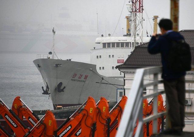 Une nouvelle route maritime Vladivostok-Corée du Nord