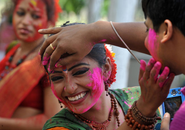 Un féstival en Inde (image d'illustration)