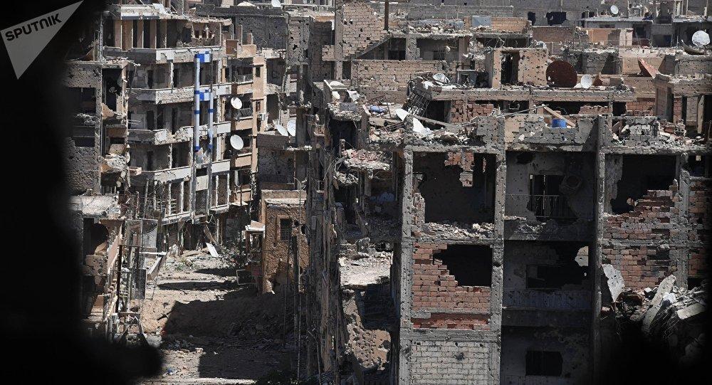 Destructions à Deir ez-Zor
