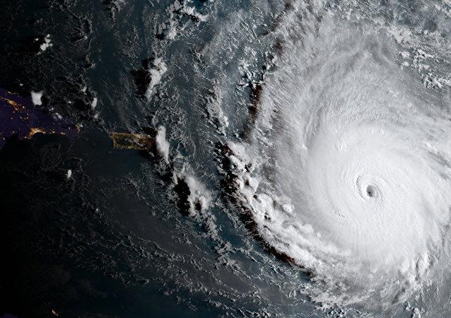 L'ouragan Irma filmé depuis l'espace