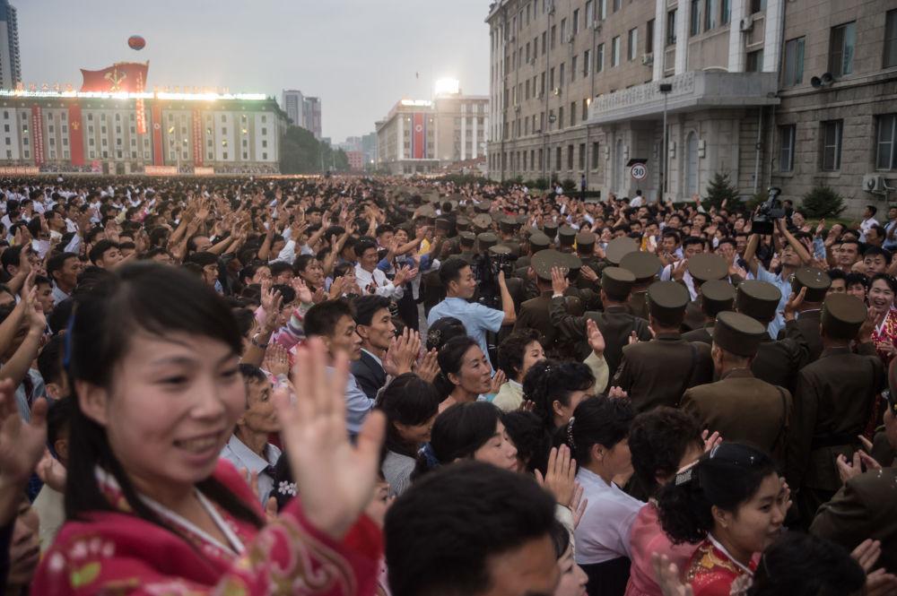 Festivités dédiées à l'essai réussi de la bombe H en Corée du Nord