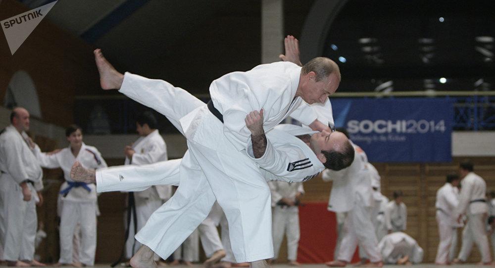 Vladimir Poutine est un maître de judo