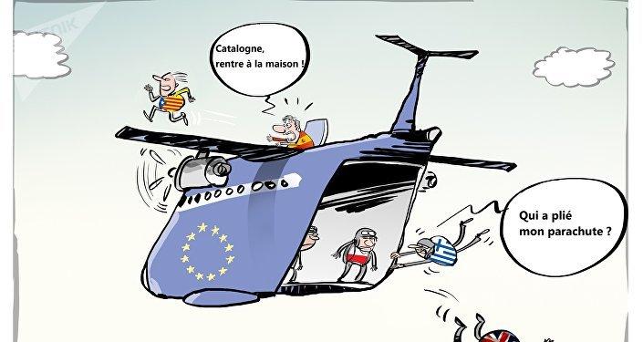 Le référendum sur l'indépendance de la Catalogne